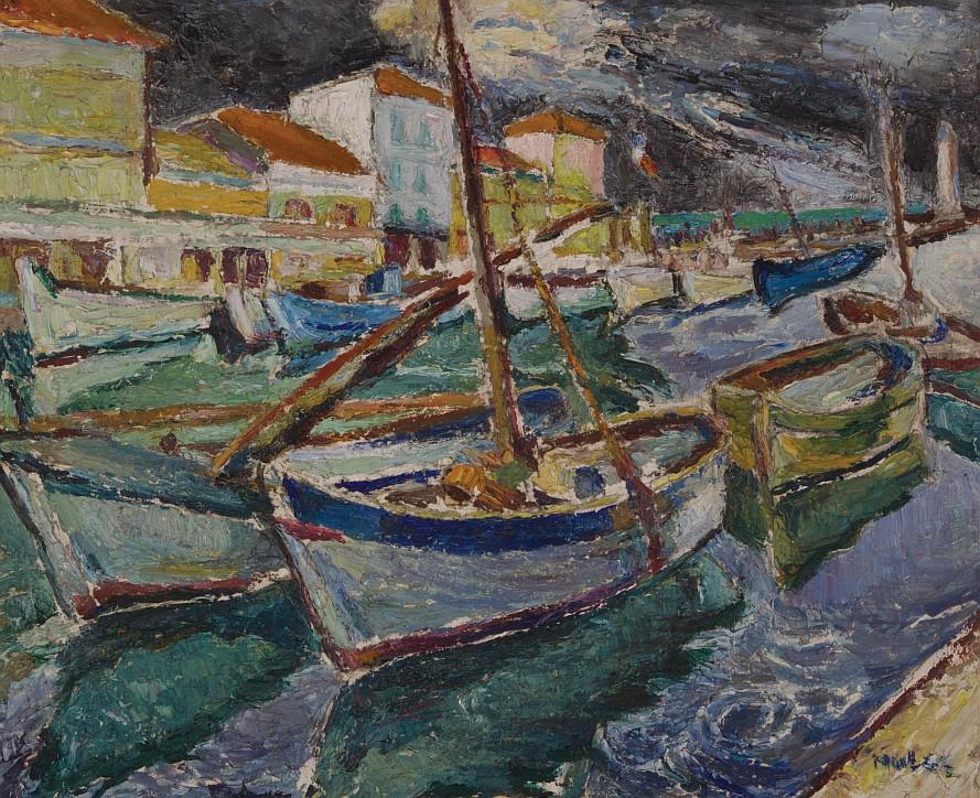 "Mela Muter (1876-1967), ""Burza w porcie"", lata 1920-te"