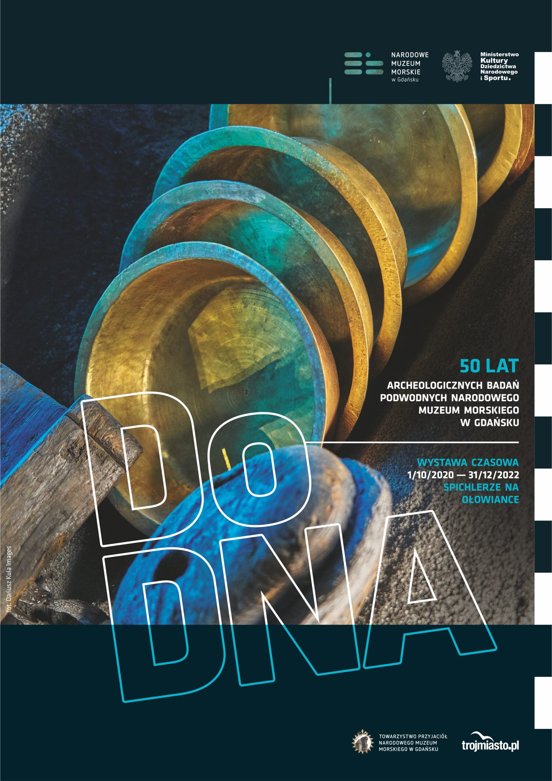 Wystawa czasowa Do DNA – sięgamy do skarbca Bałtyku - plakat