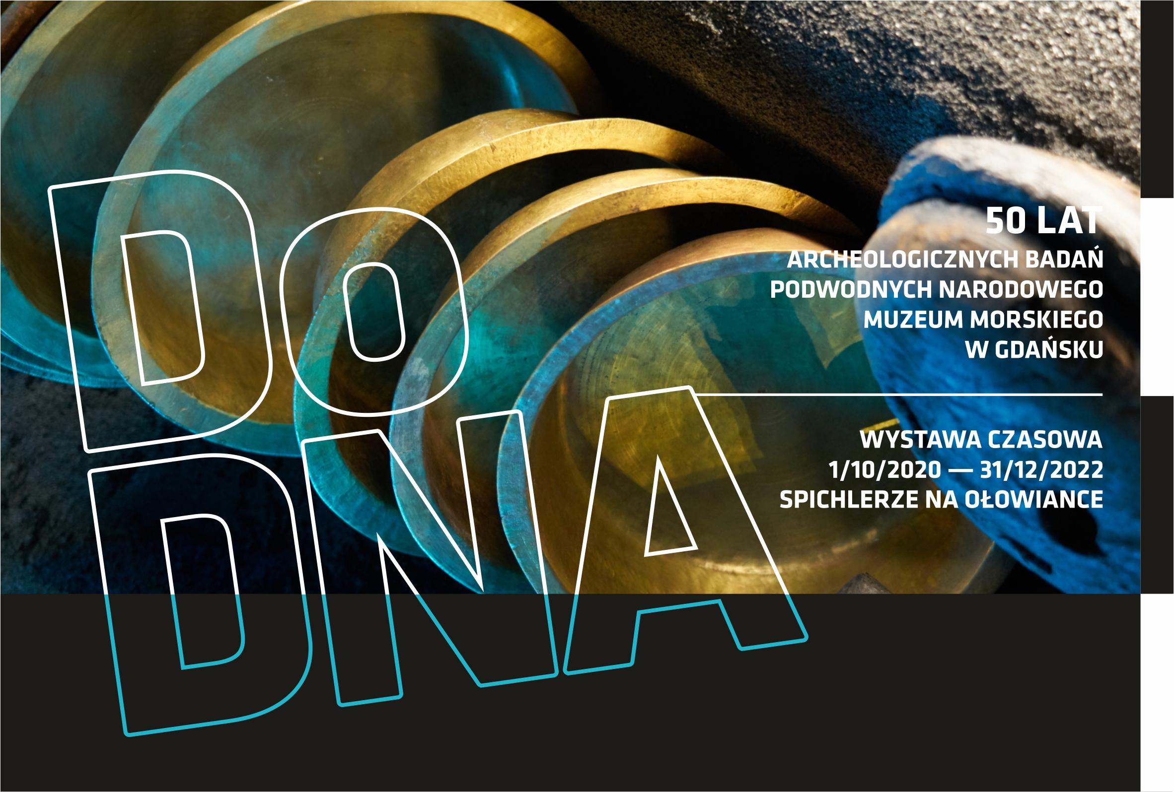"""Wystawa czasowa """"Do DNA"""" – sięgamy do skarbca Bałtyku"""