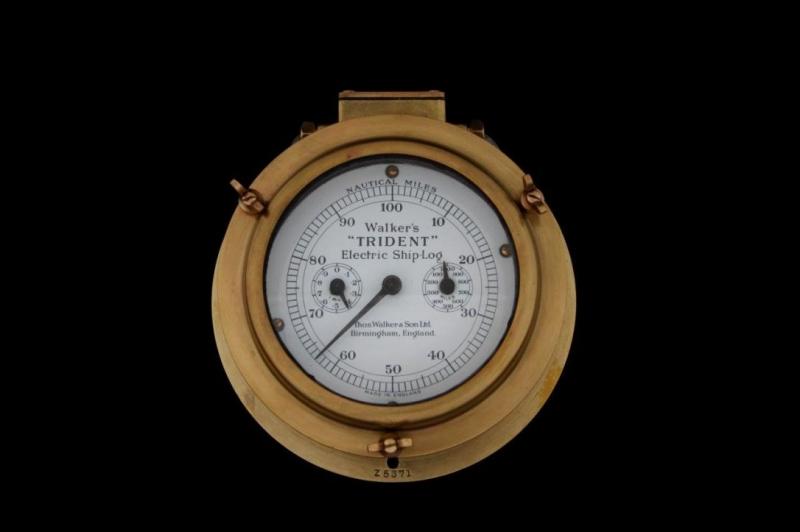 Przekaźnik elektryczny do logu mechanicznego; Thomas Walker&Son Ltd., Birmingham, Wielka Brytania.