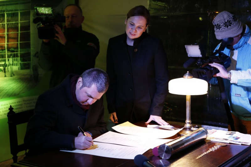 Zastępca dyrektora Narodowego Muzeum Morskiego w Gdańsku, kierownik Projektu Centrum Konserwacji Wraków Statków Szymon Kulas
