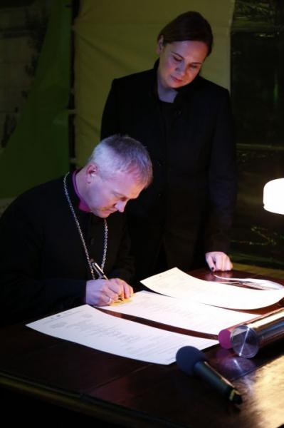 Ksiądz prof. dr hab. Marcina Hintz, biskup Diecezji Pomorsko-Wielkopolskiej Kościoła Ewangelicko-Augsburskiego