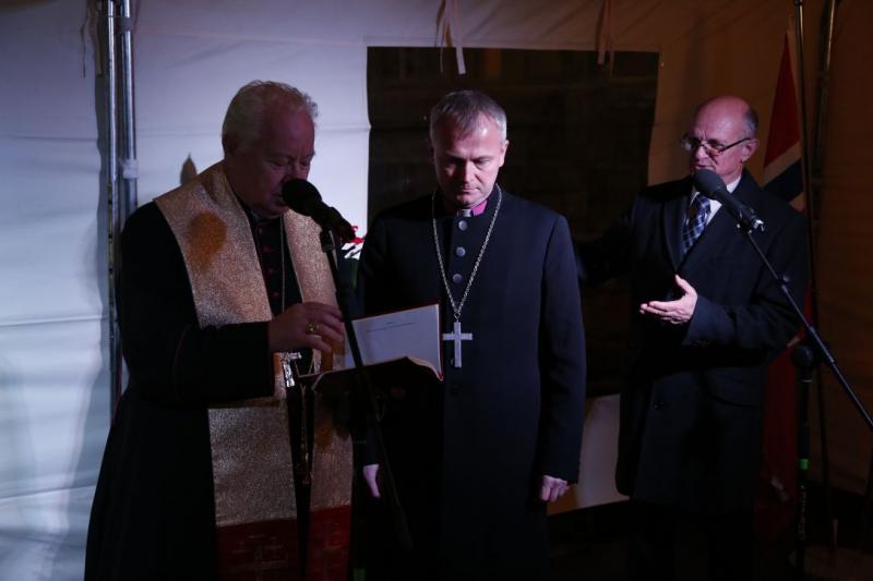 Ekumeniczne poświęcenie budowy