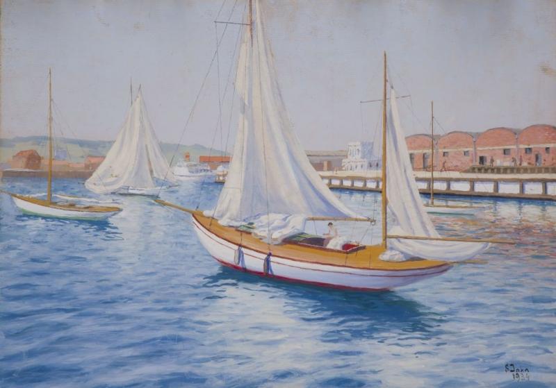 Jacht Klub w Gdyni, 1934