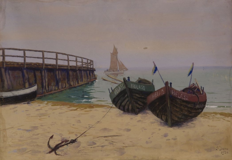 Łodzie helskie, 1920