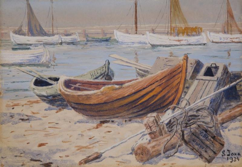 Łodzie rybackie, 1934