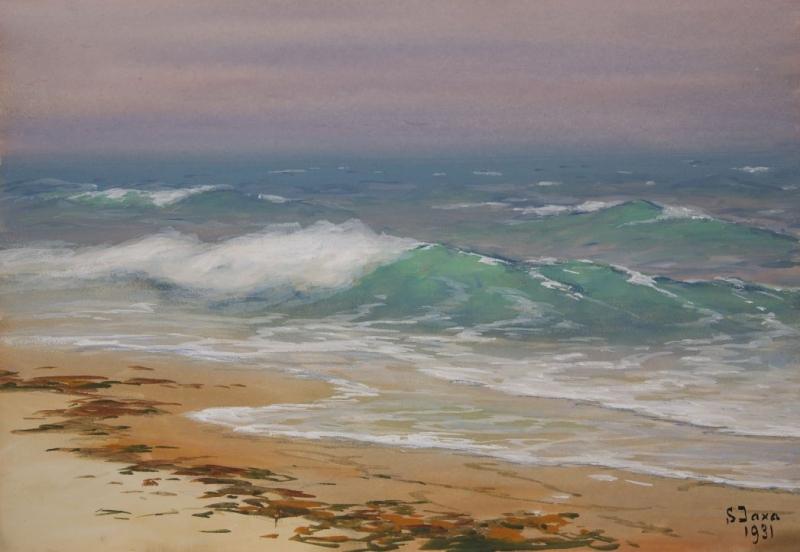 Brzeg morski, 1931
