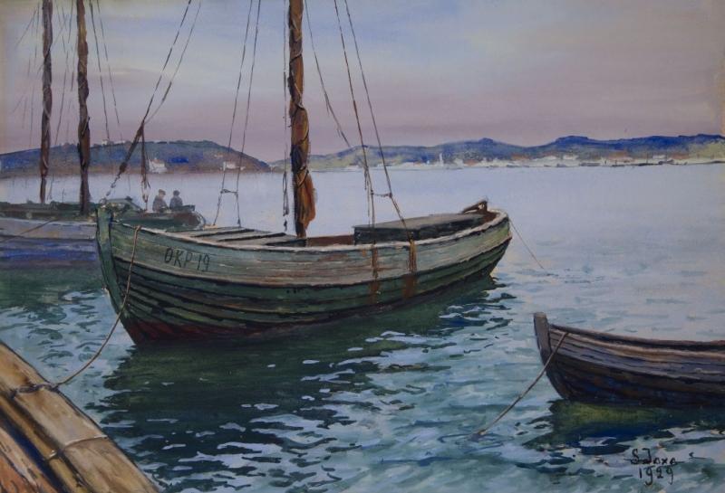 Łodzie rybackie, 1929