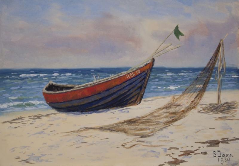 Hel – łódź, 1930