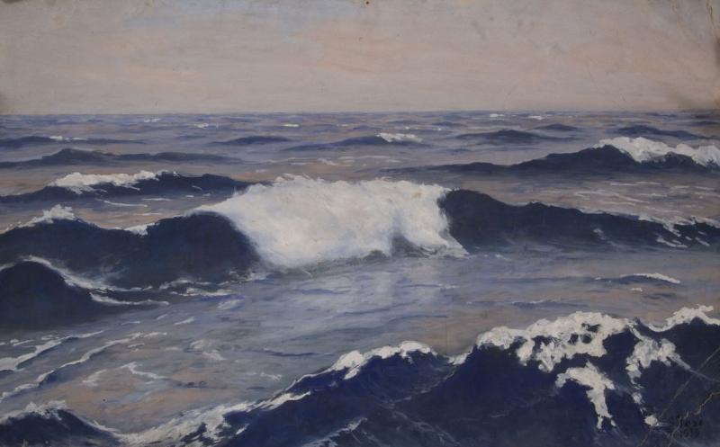 Pejzaż morski, 1939