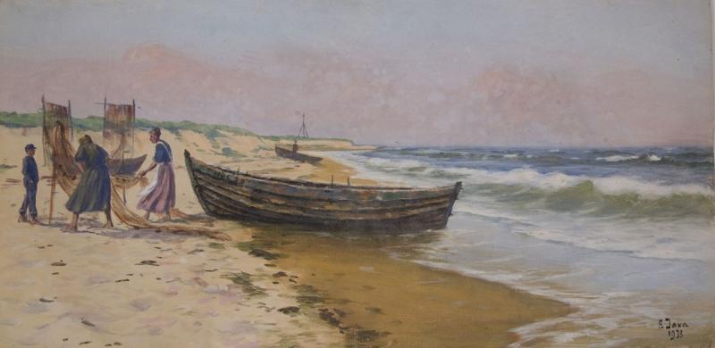 Osada rybacka, 1933