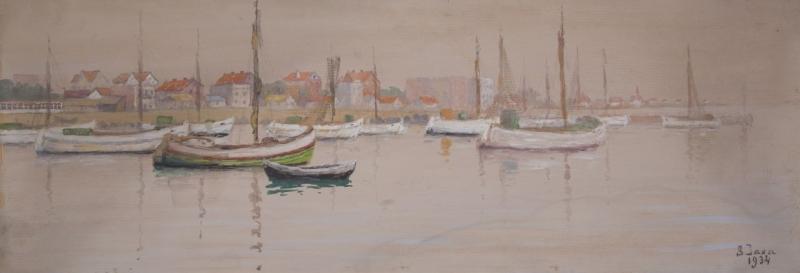 Port w Helu, 1934