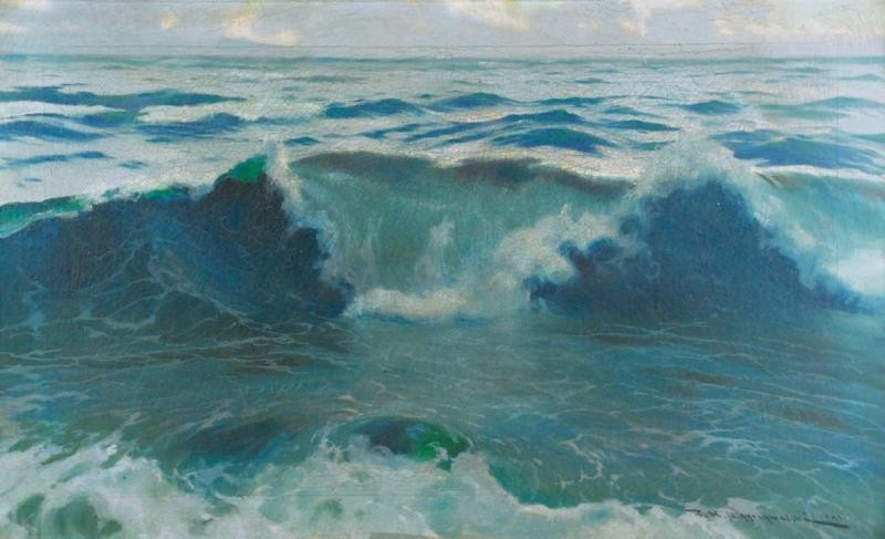 Fale morskie (Capri), 1932, własność prywatna