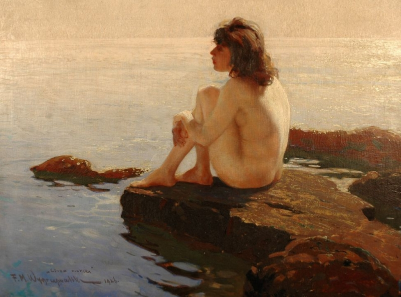 Cisza morska, 1926, własność: Sopocki Dom Aukcyjny