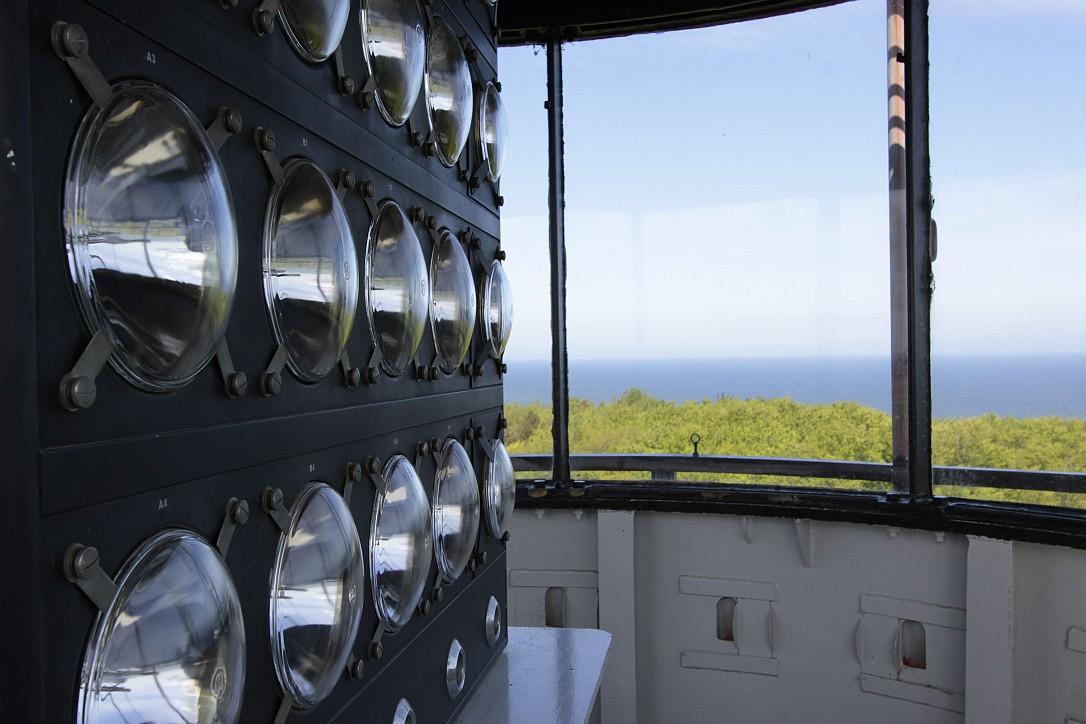 Widok z latarni morskiej w  Rozewiu, fot. Archiwum NMM