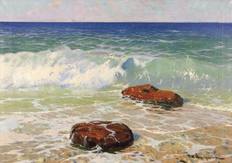 Studium morza, własność: Iwona i Michał Sikora