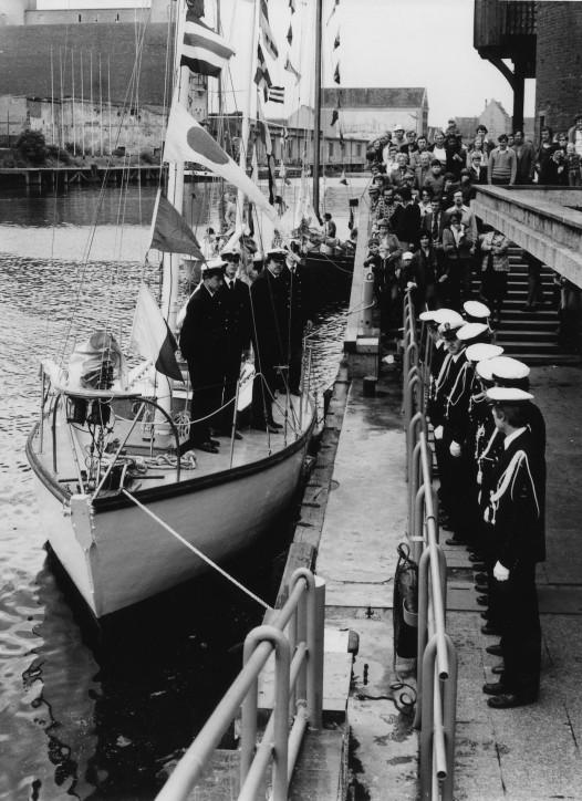 Przekazanie OPTY do Centralnego Muzeum Morskiego - rok 1979