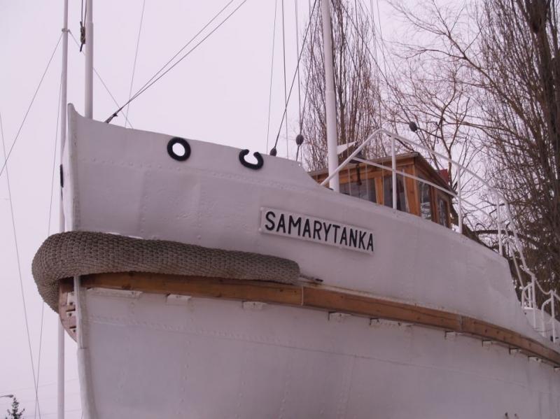 statek samarytanka
