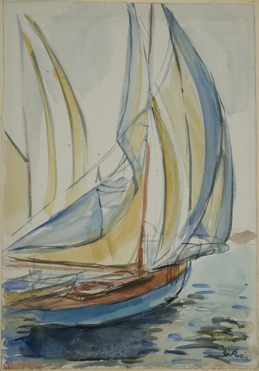 Jachty, 1925, Wojciech Weiss