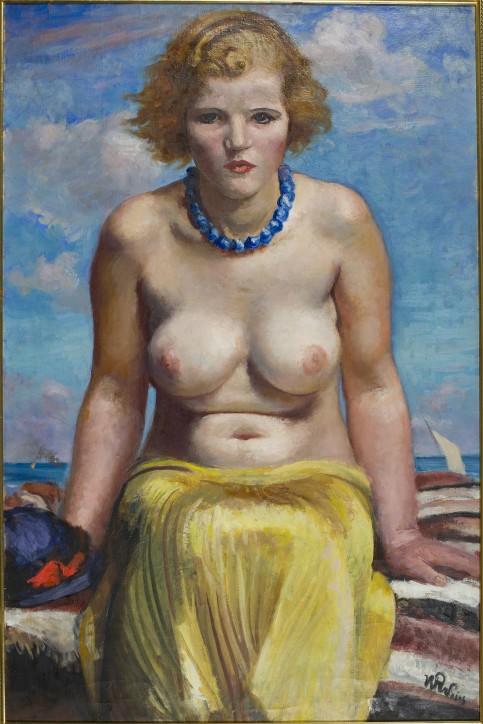Nereida, ok. 1935, Wojciech Weiss