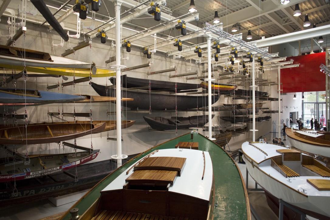 Canoe Marcina Gienieczko znajduje się na ekspozycji w Centrum Konserwacji Wraków Statków w Tczewie.