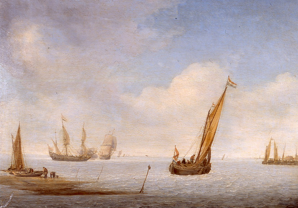 "Julius Porcellis (ok. 1610 lub 1619–1645), ""Pejzaż morski"", 1630-1645"