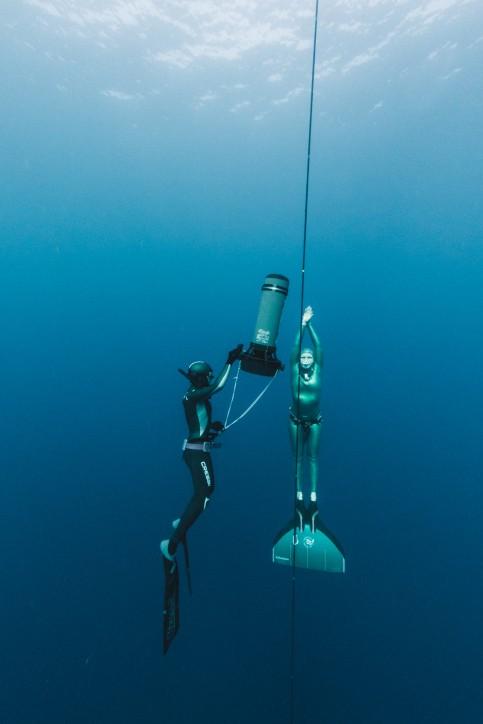 Agata Bogusz. Autor: Freediving Club Greece