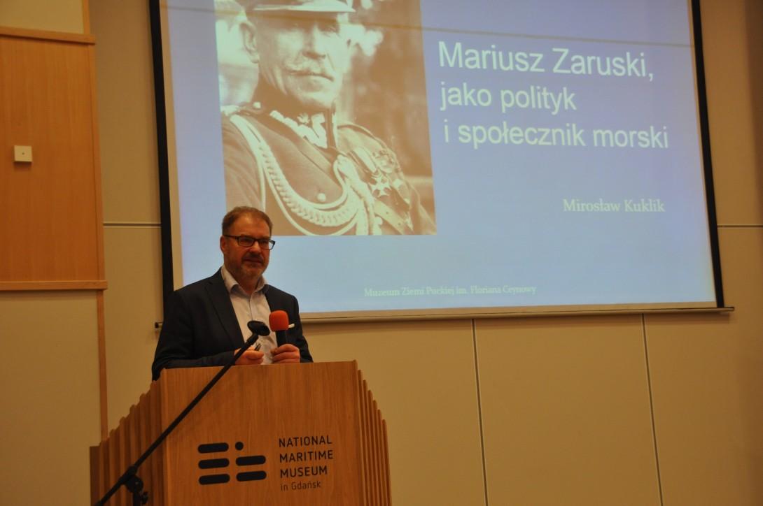 Mirosław Kuklik - dyrektor Muzeum Ziemi Puckiej im. Floriana Ceynowy