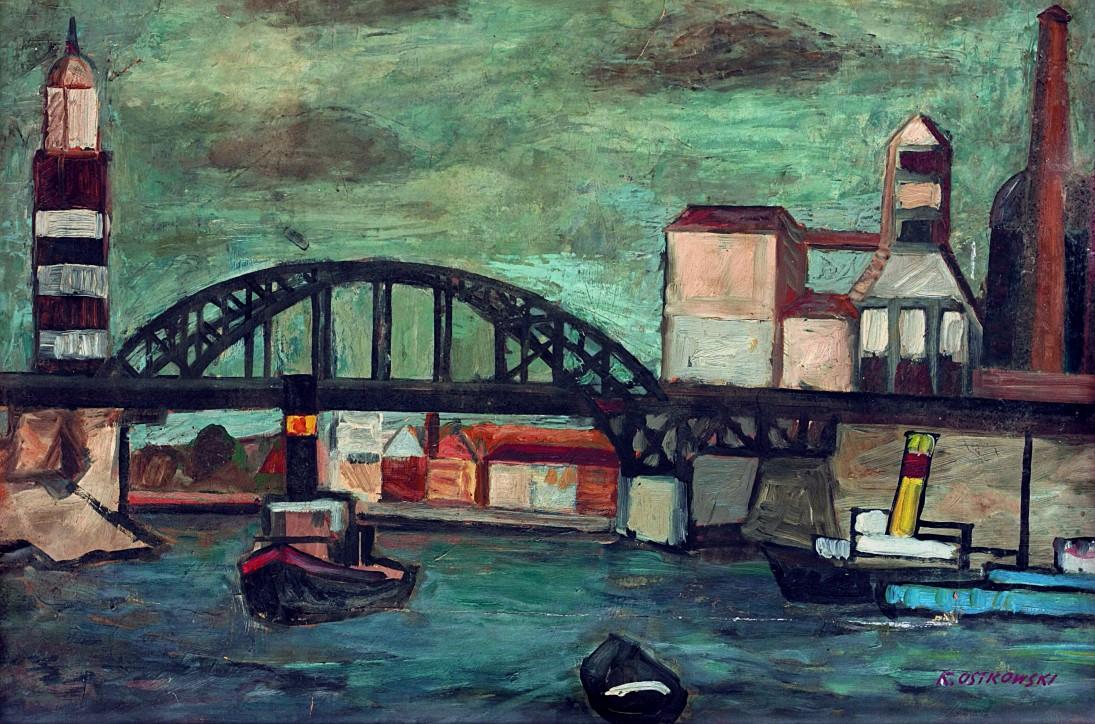 Wejście do portu, ok. 1950, Muzeum Miasta Gdyni,
