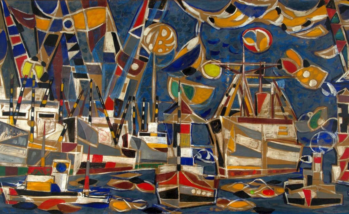 Port I, 1976, Narodowe Muzeum Morskie w Gdańsku