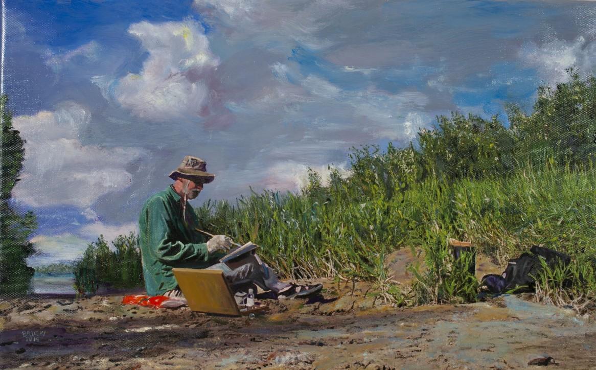 """Autoportret"". Mirosław Brucki"