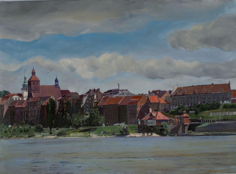 """""""Panorama"""". Grudziądz. Mirosław Brucki"""