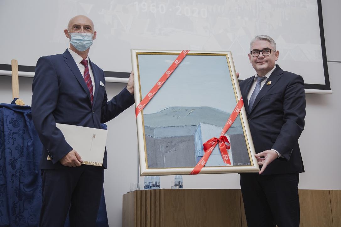 Dyrektor NMM - dr Robert Domżał i Wiceprezydent Miasta Gdańska - Piotr Kowalczuk