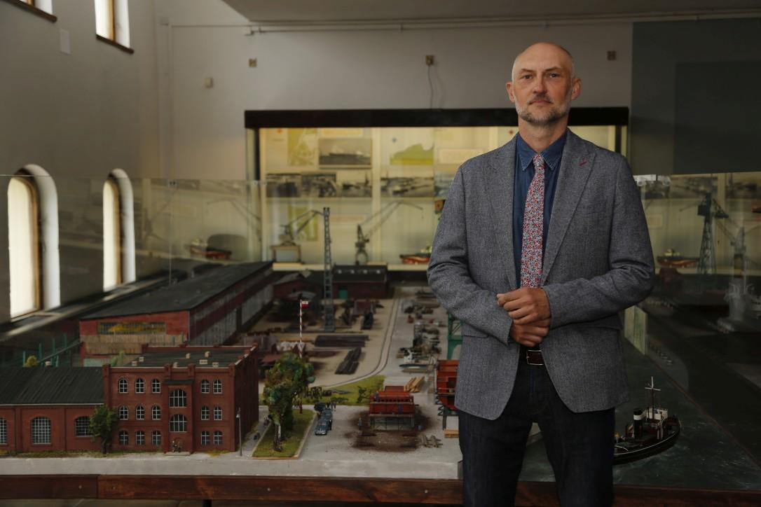 Dyrektor Narodowego Muzeum Morskiego, dr Robert Domżał zaprasza