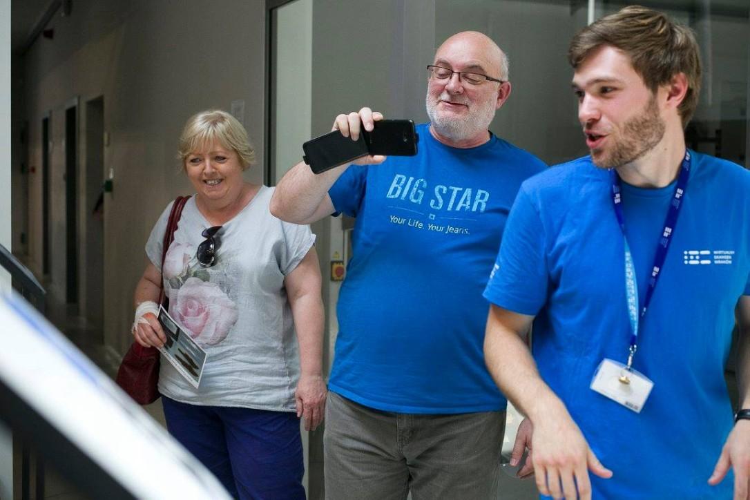 Seniorzy zwiedzają CKWS w Tczewie
