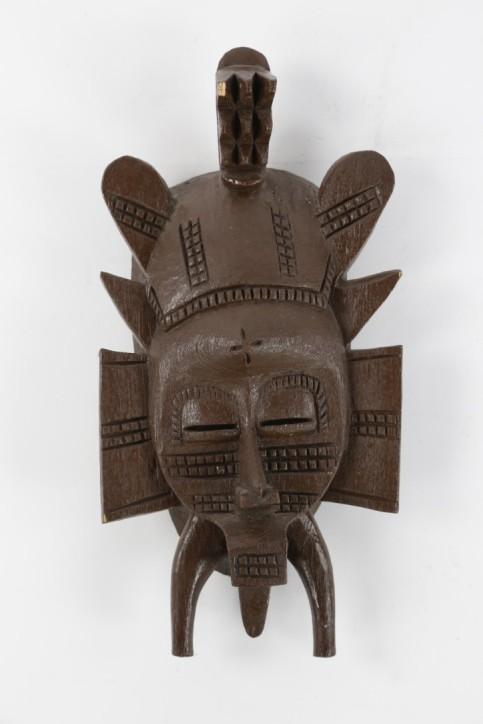 Afryka / Wybrzeże Kości Słoniowej lub Mali. Maska Senufo
