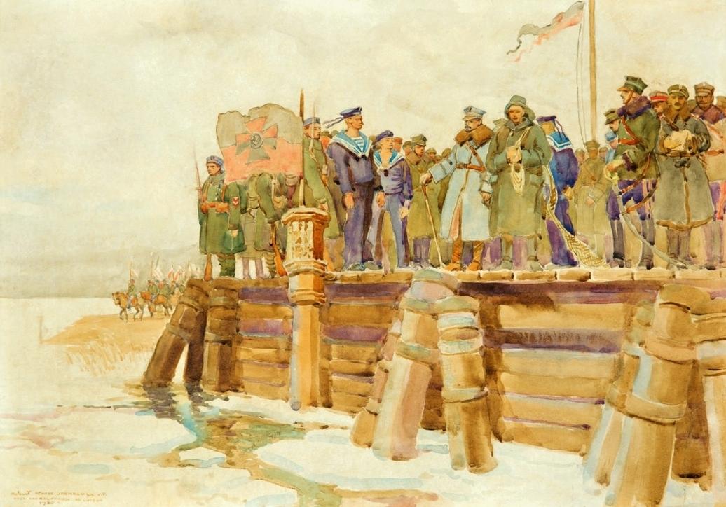 Henryk Uziembło (1879–1949), Zaślubiny Polski z morzem I, 1920