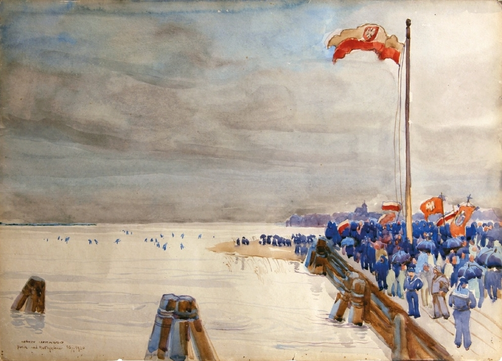 Henryk Uziembło (1879–1949), Puck nad Bałtykiem – 10 lutego 1920