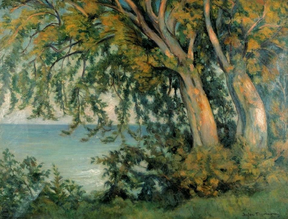 Stefan Filipkiewicz (1879–1944) Stare buki w Rozewiu, ok. 1933