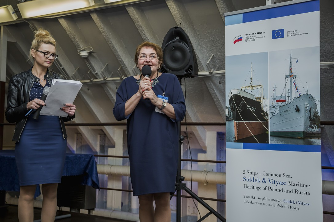 L. Zubina – wicedyrektor ds. naukowych Muzeum Oceanu Światowego w Kaliningradzie