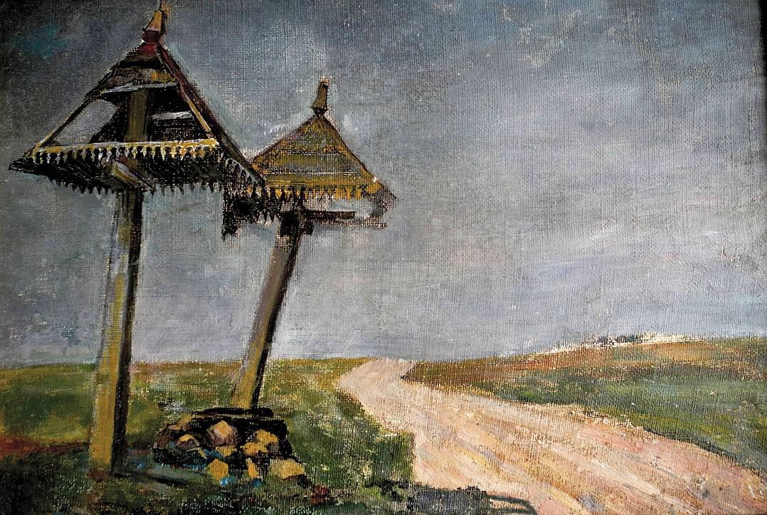 Krzyże Wołkołackie, 1939, Bolesław Rogiński