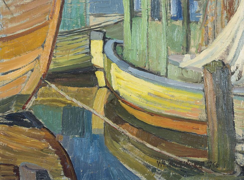 Kutry rybackie, 1960, Władysława Rogińska