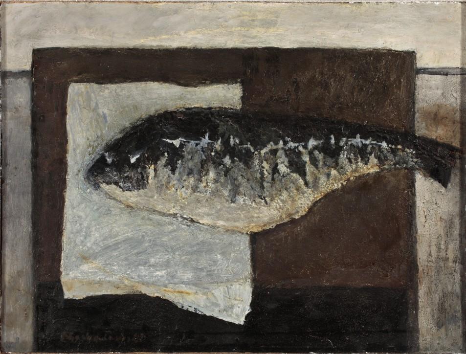Stanisław Michałowski (1915-1980), Ryba II, 1962, Muzeum Narodowe w Warszawie