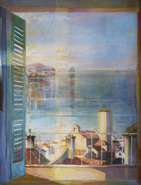 Stanisław Teisseyre (1905-1988), Popołudniowa cisza przemijania, 1979, Muzeum Narodowe w Gdańsku