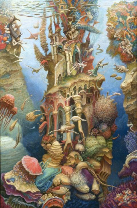 Włodzimierz Szpinger, Dom Okeanosa (tryptyk: środek)
