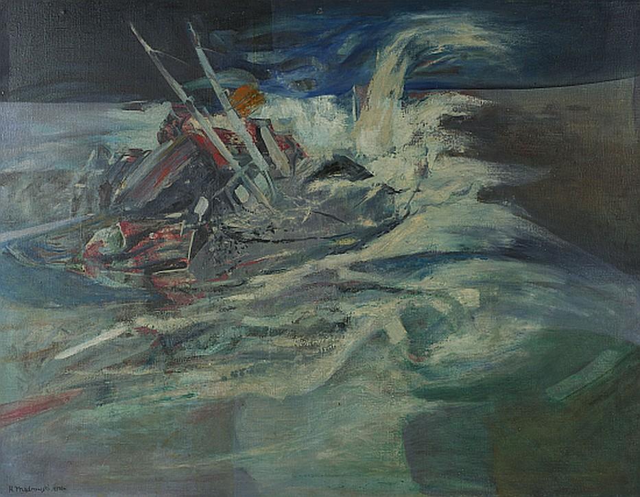 "Henryk Mądrawski (1933-2009), ""Sztorm"", 1970"