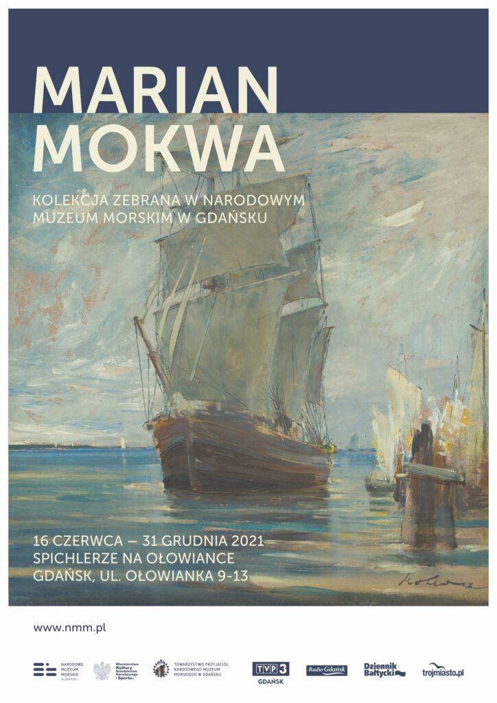 Kolekcja dzieł Mariana Mokwy w Narodowym Muzeum Morskim w Gdańsku