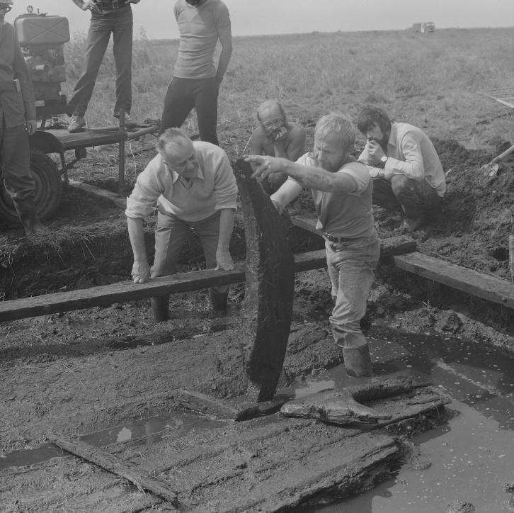Badania archeologiczne w 1983 roku