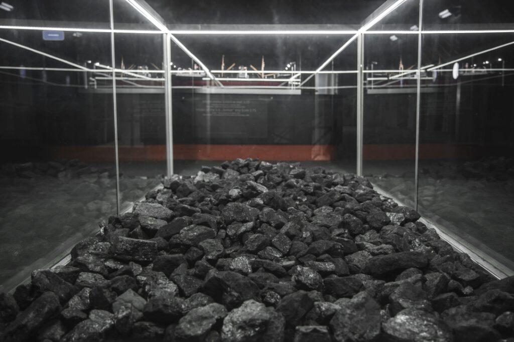 Stanowisko z węglem kamiennym na Sołdku