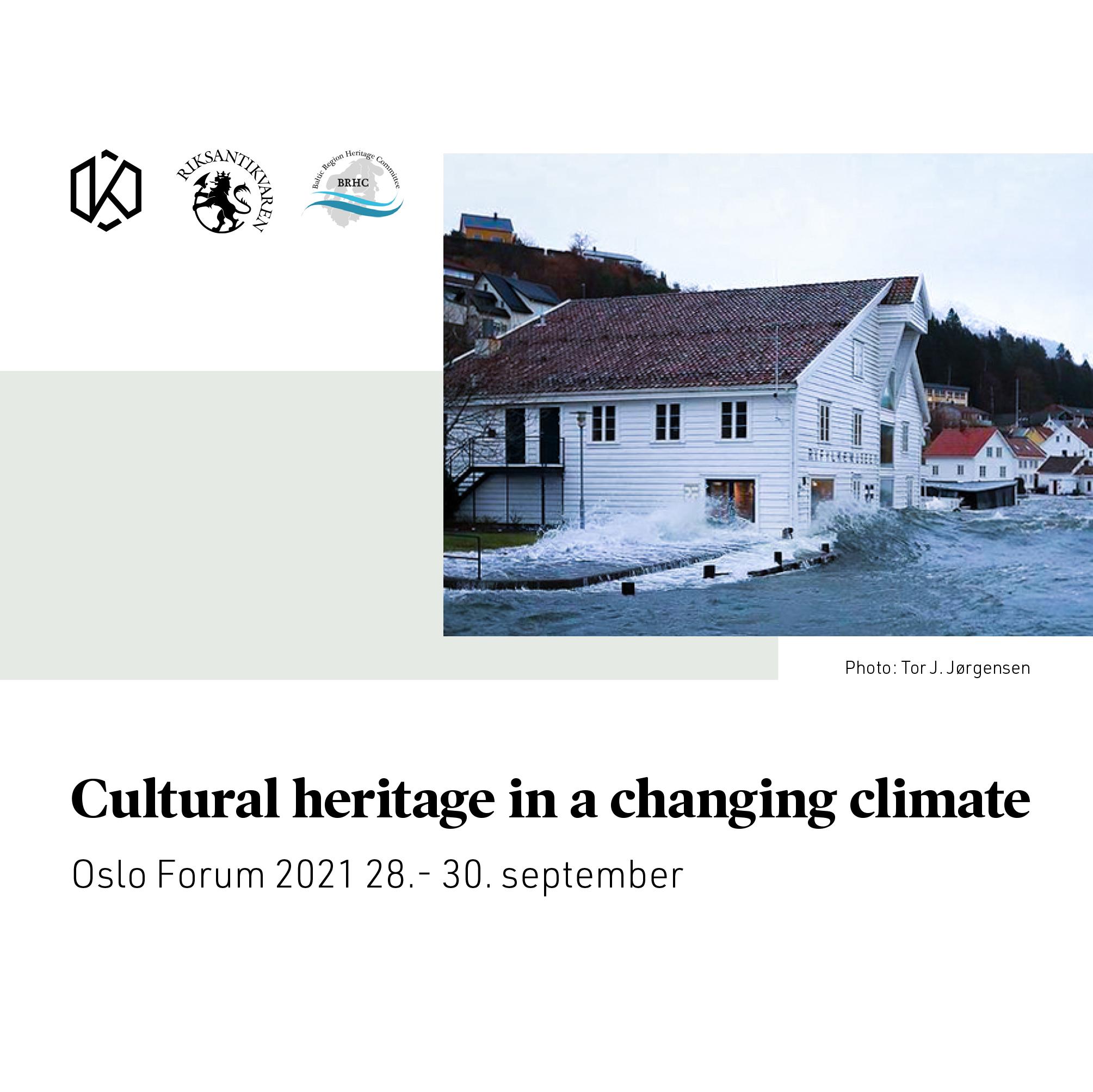 Dziedzictwo kulturowe a zmiany klimatu. Forum w Oslo 28-30 września 2021